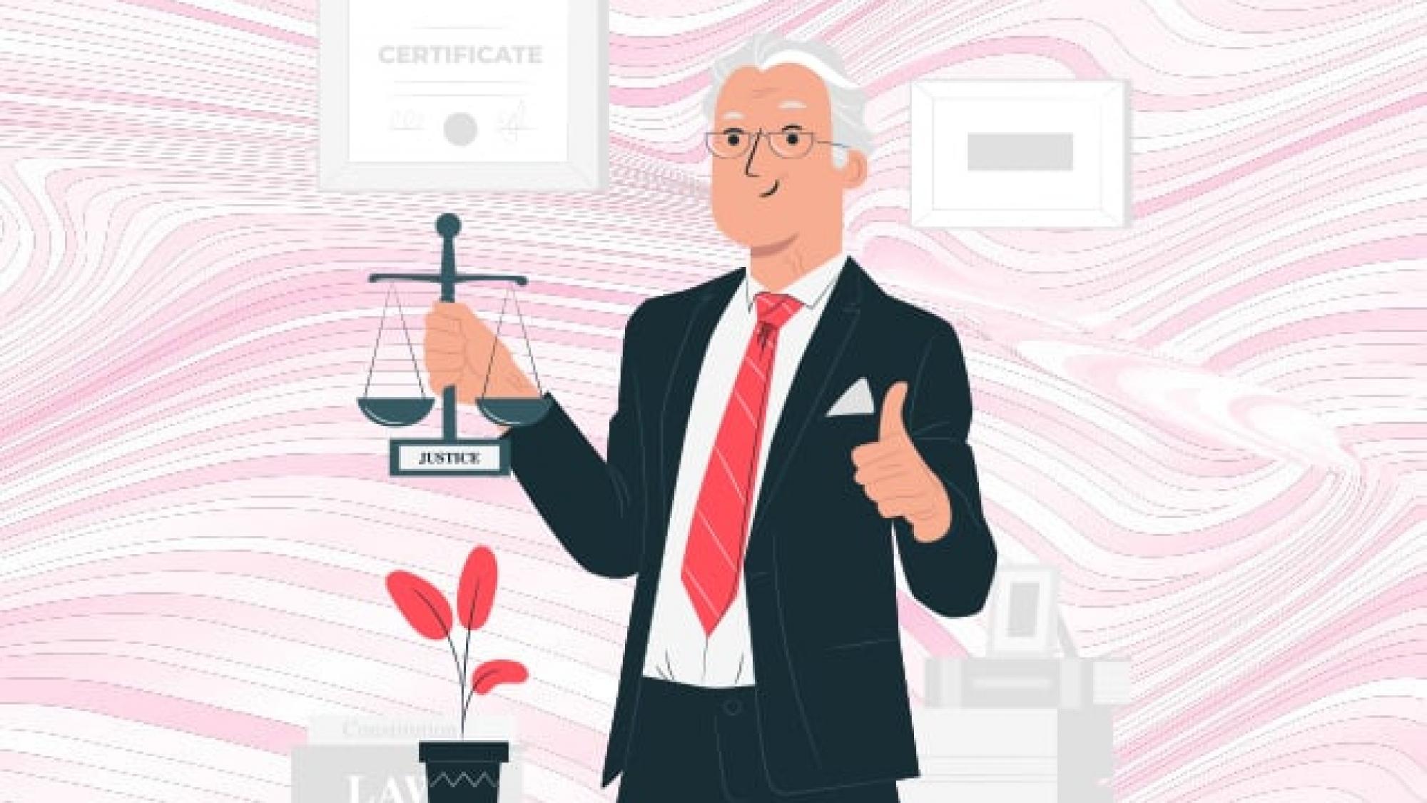 طراحی وبسایت وکلا